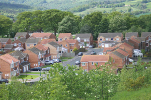 New_housing_estate_Consett_-_geograph