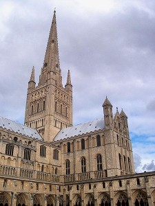 Norwich Cathedral hosted Triad for the NNF15 events