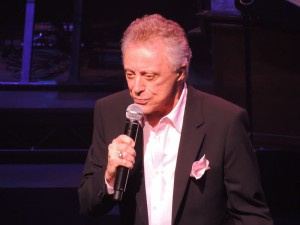 Jersey Boys is about Frankie Valli (pictured in 2012) and The Four Seasons