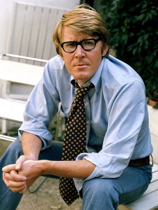 Alan Bennett in 1973, the year he wrote Habeas Corpus