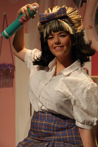 Hairspray is all about BIG hair and lots of hairspray!